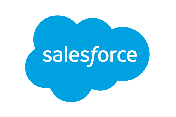 We integrate with Salesforce