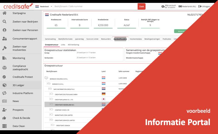 Informatie Portal Creditsafe