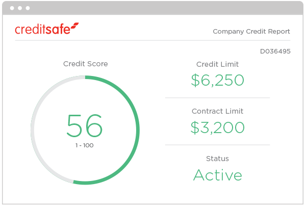 Check your credit scores with a Creditsafe company credit report